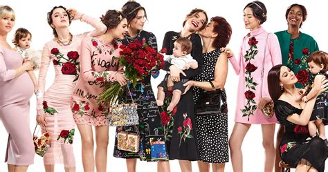 dolce gabba a family affair dolce gabbana fall winter 2015 ad