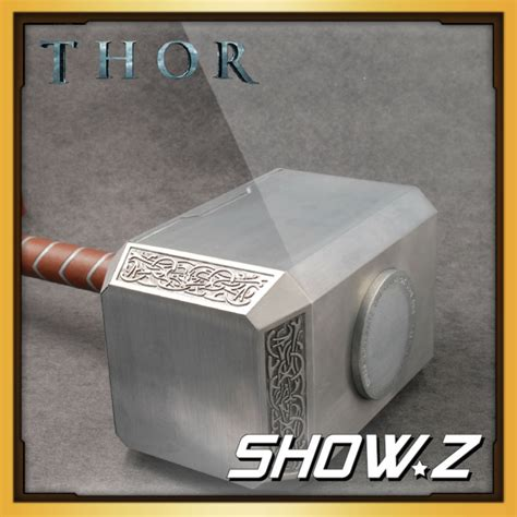 Hammer Of Thor Original Autentik No 1 aliexpress buy metal made cattoys 1 1 thor mjolnir hammer replica prop from