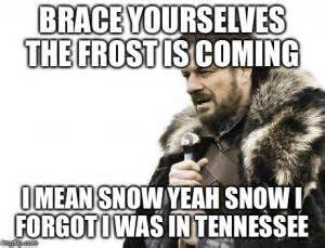 Brace Yourself Meme Snow - jokes about tennessee kappit