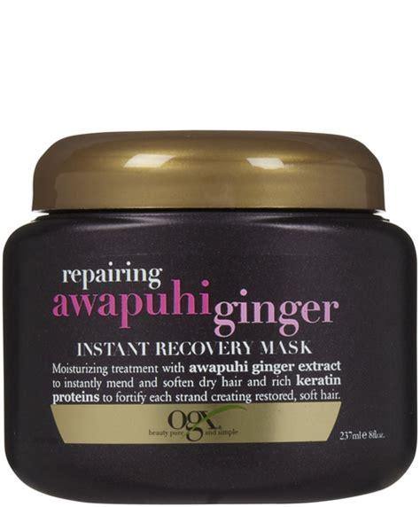 Ogx Repairing Awapuhi Shoo awapuhi instant recovery repairing mask ogx afro hair boutique