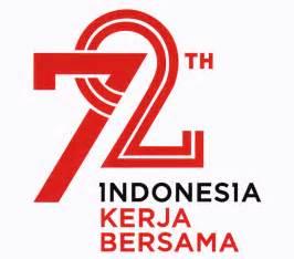 logo hut ri ke 72 tahun indonesia merdeka kerja