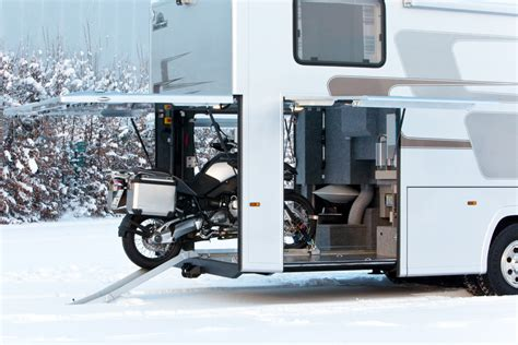 Motor Garage by Vario Alkoven 950 Motorhome With Motorcycle Garage
