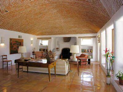 boveda ceiling brick spring interiors house design