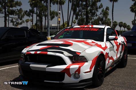 Image Gallery Camo Mustang
