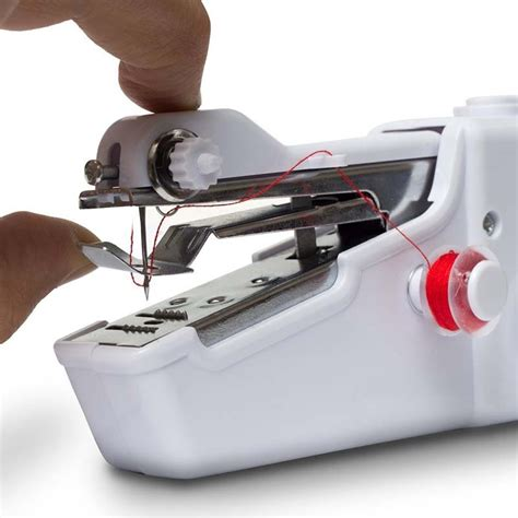 Handy Stitch Portable Handheld Sewing Machine Diskon portable sewing machine aed janome portable sewing