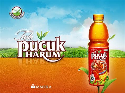 Teh Pucuk Agen iklan on topsy one
