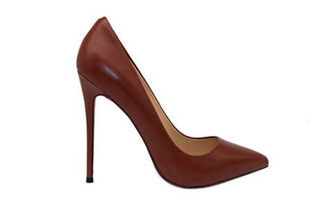 5 inch Heels   Dark Brown Pumps