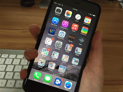 how to use your iphone 6 plus one handed imore