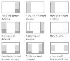 web layout columns 1000 images about web page layout terminology grid