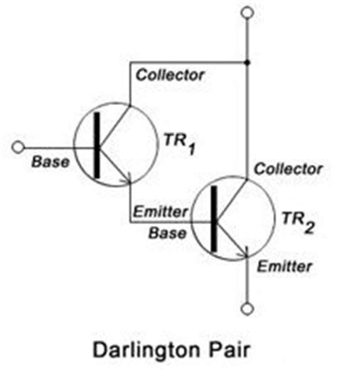 darlington transistor how it works what is darlington pair and its transistor diagram quora