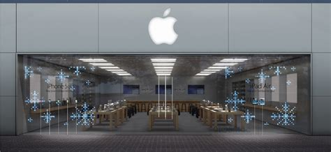 apple store apple stores to celebrate holidays with magical front