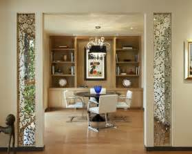 decorative glass partitions home dining room partition houzz