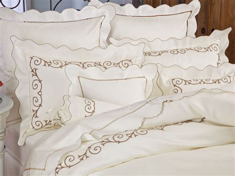 italian bed sheets artfully designed sheets embroidery schweitzerlinen