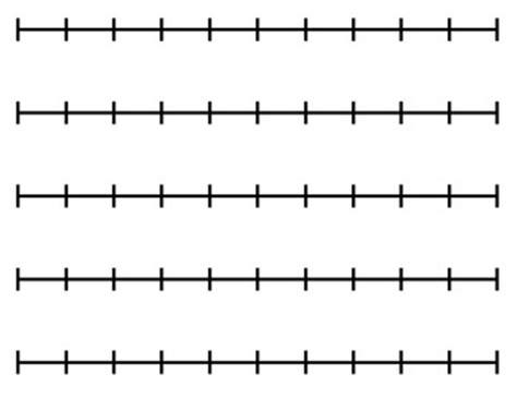 printable blank number line to 10 blank number lines printable clipart best