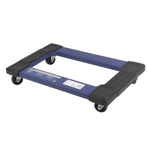 couch dolly shop kobalt 3 in plastic swivel furniture dolly at lowes com