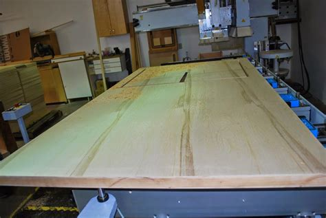 large wood panel made of torsion box composite plywood