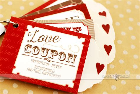 diy gift voucher template diy coupons