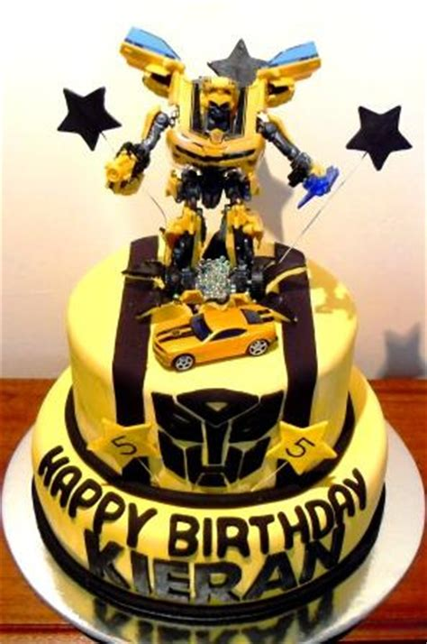 bumblebee transformers birthdaycake bumble bee transfo flickr