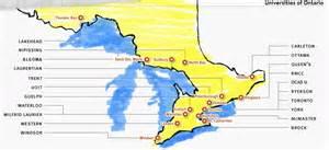 map of universities in canada momonwheel