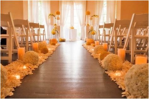Small Wedding No Aisle by Aisle Decorations For Wedding Laurensthoughts