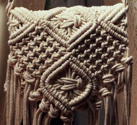 Macrame Crochet - top 25 best macrame bag ideas on macrame