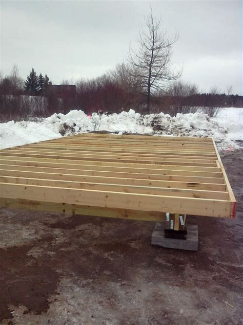 cabin on skids building on skids small cabin forum