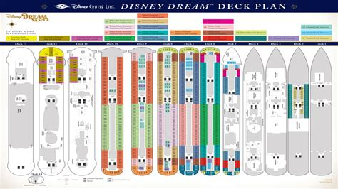 disney dream floor plan disney dream cruise ship deck plans disney dream cruise