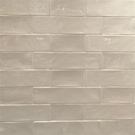 Handmade Subway Tiles - handmade subway tile in alternating 3x6 and 3x12 pattern