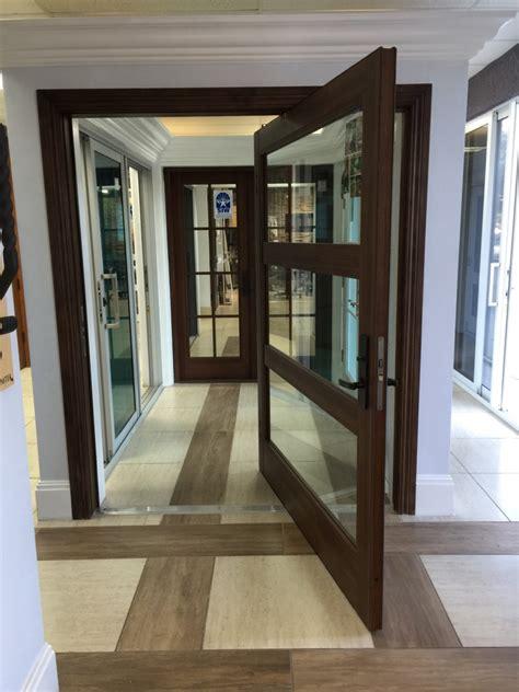 impact pivot doors florida hurricane pivot doors