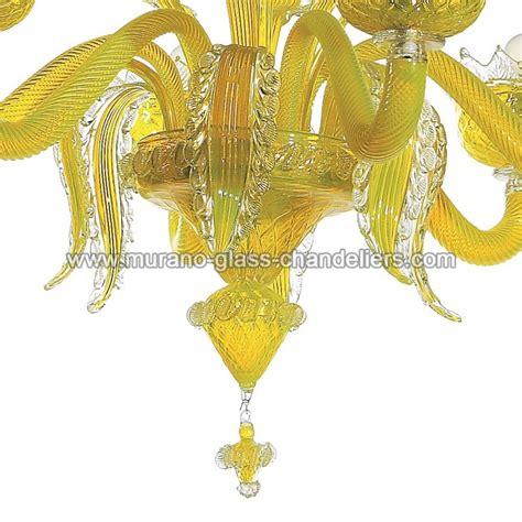 Yellow Chandelier Quot Topazio Quot Yellow Murano Glass Chandelier Murano Glass Chandeliers