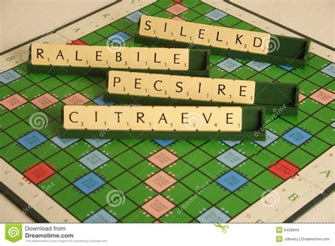 scrabble anagram scrabble personal qualities as a scrabble anagram stock images