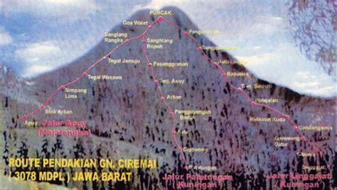 mapala negara dipa stia amuntai peta gunung  rute