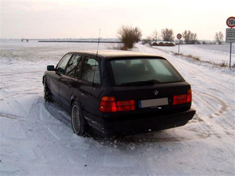 E34 Niveauregulierung Tieferlegen by The Transporter E34 530i Touring 5er Bmw E34