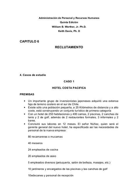 CAPITULO 6 RECLUTAMIENTO Administración de Personal y