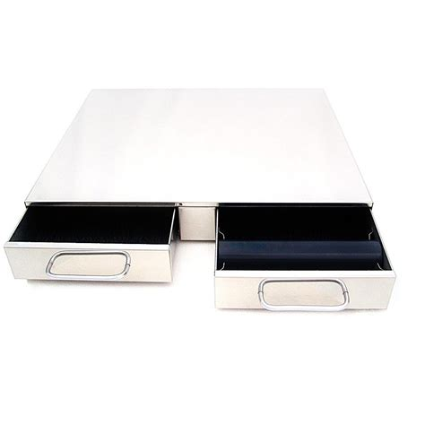 Espresso Knock Box Drawer by Knock Box Bezzera Stainless Steel Drawer For Coffee Machine