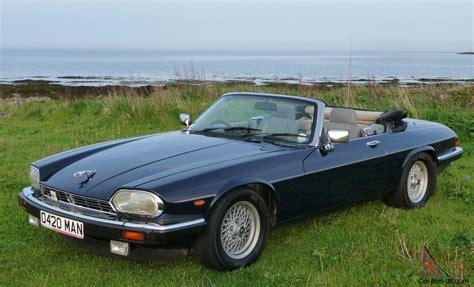 1989 jaguar xj 1989 jaguar xj s v12 convertible auto blue