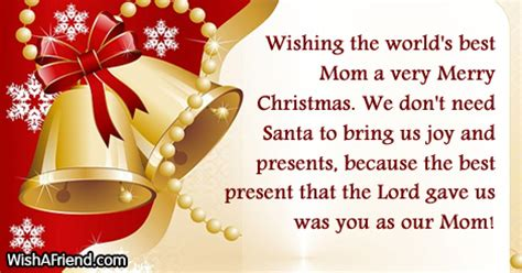 christmas messages  mom