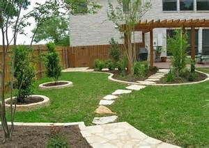 Landscaped Backyard Ideas Small Yard Landscaping Design Corner