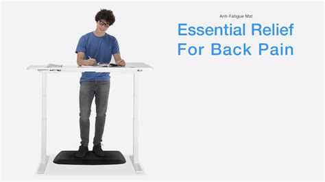 standing desk back pain 29 00 anti fatigue mat essential relief for back pain