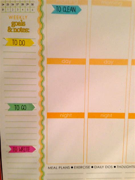 free printable planner flags mswenduhh planning printable planner flags stickers