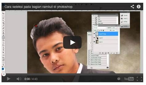 tutorial photoshop masking bahasa indonesia rambut tutorial photoshop bahasa indonesia