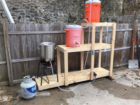 diy wednesday brew stands homebrewing makes me