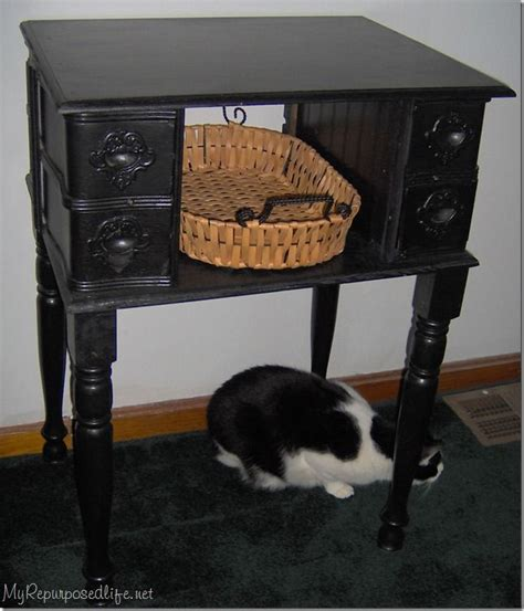 repurposed antique sewing machine leaving our trail 96 best images about repurposed vintage treadle sewing