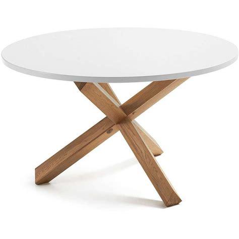 mesas comedor redonda mesa de comedor redonda nordikyi 120 cm blanca mesa