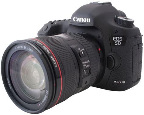 Kamera Dslr Canon 5d Ii canon eos 5d iii dslr review videomaker