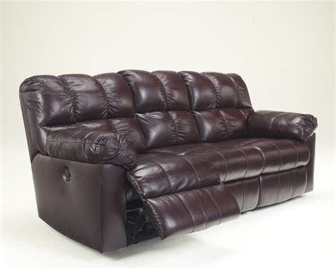 ashley furniture power recliner 2900087 ashley furniture kennard burgundy reclining sofa w