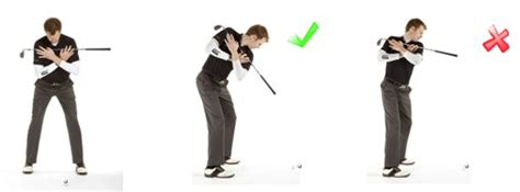 golf swing drills at home topping the golf ball fault 1 lifting up during the