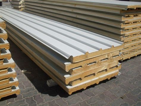 Engsel Panel Ss 50mm 50mm pu pir pock l 227 eps 233 is sandwich isolamento para telhados revestimento paredes