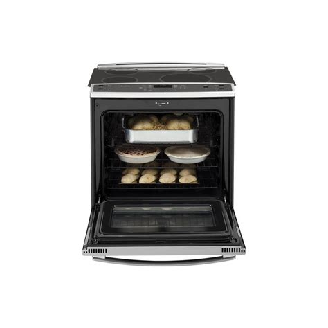 Stove Drawer by Ge Profile Series 30 Quot Slide In Induction And Convection