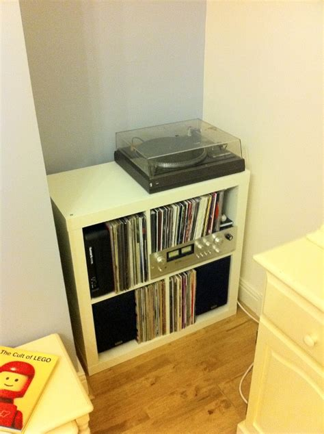 record player cabinet ikea jmtd log my new record player unit